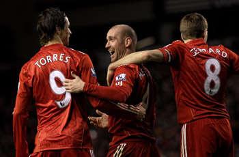 Liverpool Menang Beruntung