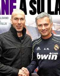 Zidane, Mourinho (Marca)