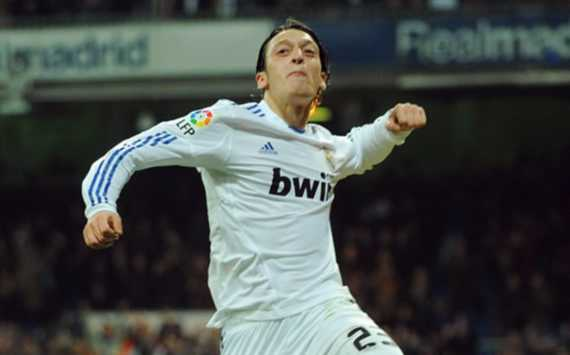 Mesut Ozil, Real Madrid (Getty Images)