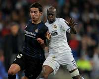 Lassana Diarra; Daniel Agirrezabalaga, Real Madrid, Real Sociedad (Getty Images)