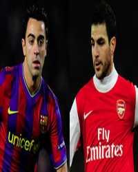 Xavi Hernandez, Cesc Fabregas, Barcelona, Arsenal (Getty Images)