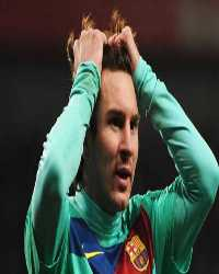 UEFA Champions League  - Arsenal vs Barcelona , Lionel Messi(Getty Images)