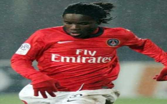 Europa League : Pegguy Luyindula (Paris SG) - (Panoramic)