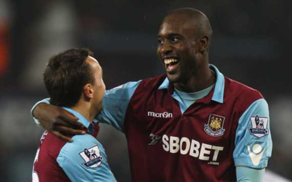 FA Cup - West Ham United vs Burnley, Carlton Cole and Mark Noble(Getty Images)