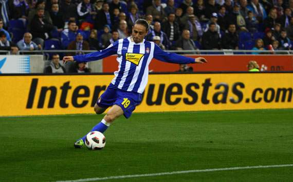 Liga BBVA: Sergio Garcia (Espanyol)