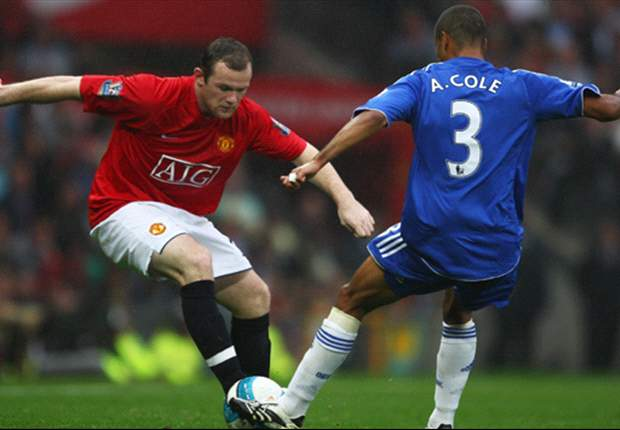 Ashley Cole or Wayne Rooney? Who is more fortunate to be playing in the Chelsea - Manchester United match