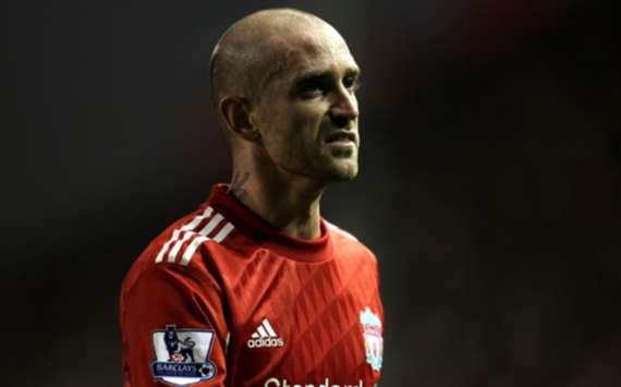 EPL: Raul Meireles, Liverpool v West Ham