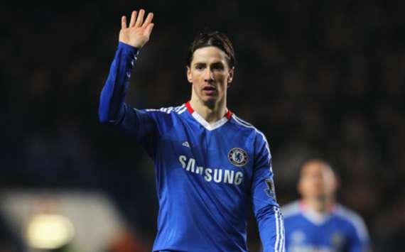 EPL :Fernando Torres, Chelsea v Manchester United