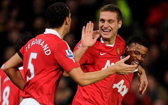 Vidic & Ferdinand no longer Manchester United's first-choice pairing, admits Ferguson