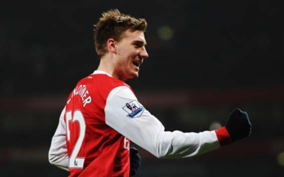 FA Cup : Nicklas Bendtner,Arsenal v Leyton Orient