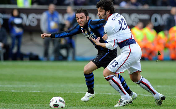Pazzini & Kaladze - Inter-Genoa - Serie A (Getty Images)