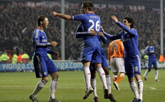 EPL : John Terry, Blackpool v Chelsea