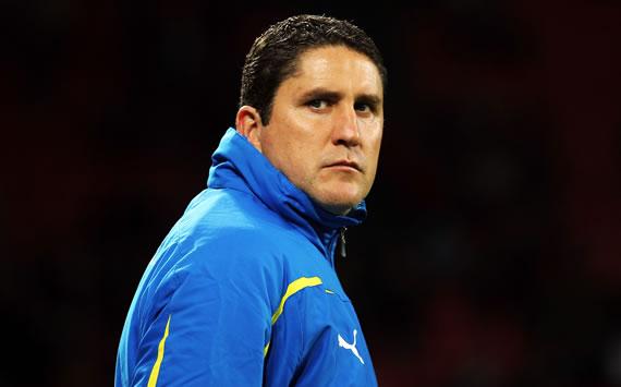 Juan Carlos Garrido, entrenador del Villarreal