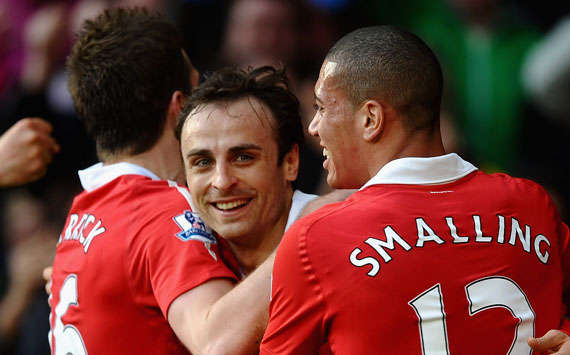 BPL, Manchester United and Bolton Wanderers, Dimitar Berbatov, Michael Carrick and Chris Smalling