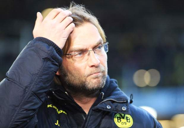 Klopp disappointed with Borussia Dortmunds start as they lose to Hamburg