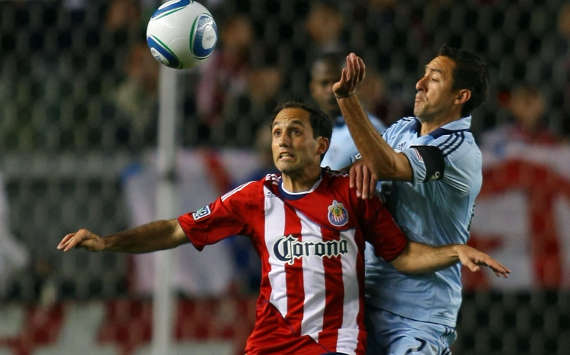 Nick LaBrocca, Chivas USA; Davey Arnaud, Sporting Kansas City; MLS