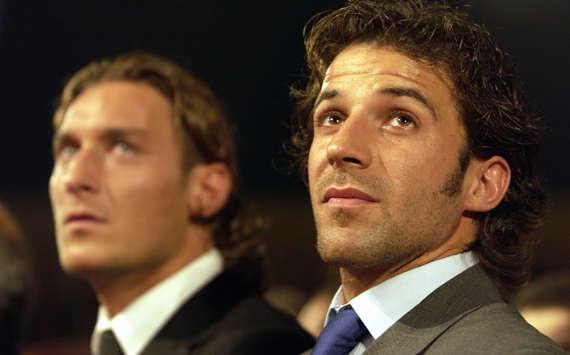 Totti & Del Piero (Getty Images)