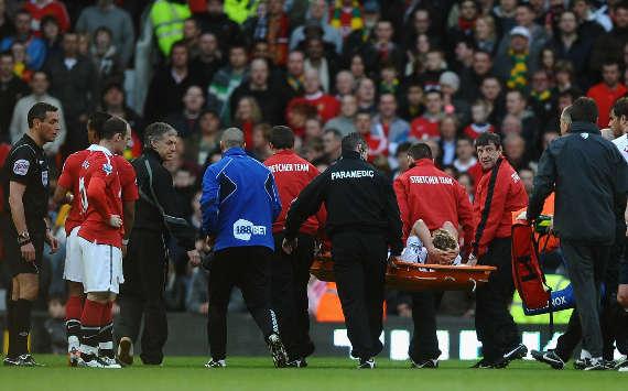 Stuart Holden injury, Bolton Wanderers, EPL