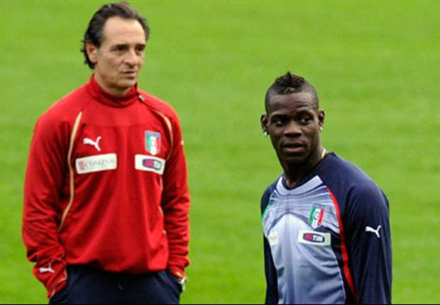 Manchester City striker Mario Balotelli recalled by Italy's Cesare Prandelli for Estonia & Republic of Ireland clashes