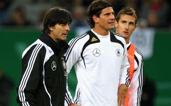 Joachim Loew; Mario Gomez; Miroslav Klose