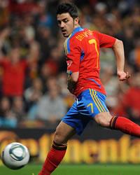 David Villa, Spain, Czech Republic