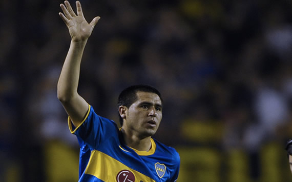 Riquelme and Falcioni clash in Boca dressing room after Zamora draw - report