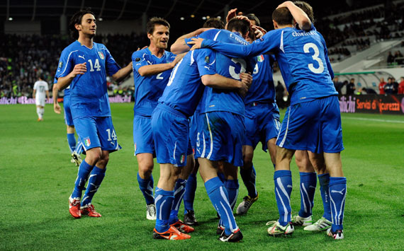 Italy celebrating (Getty Images)