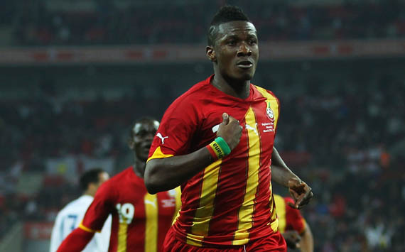 International Friendly,Asamoah Gyan,England vs Ghana