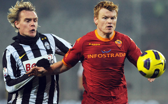 Krasic & Riise - Juventus-Roma (Getty Images)