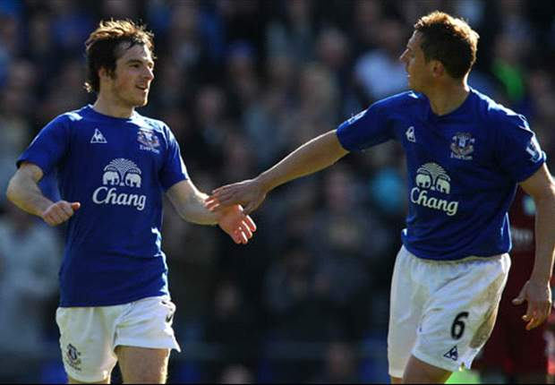 Manchester United step up interest in Everton full-back Baines