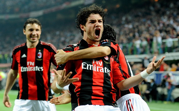 Mark Van Bommel, Alexandre Pato - Milan-Inter - Serie A (Getty Images)