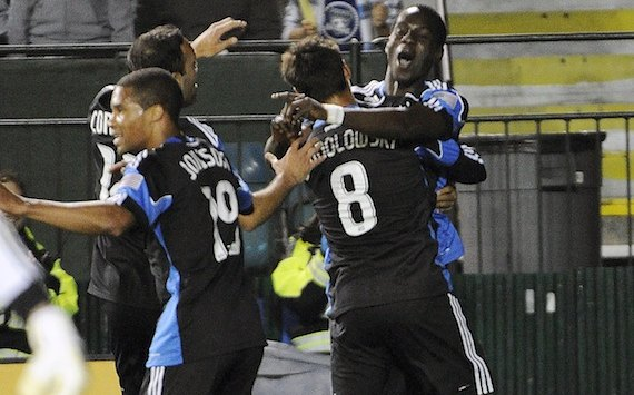 Simon Dawkins, Chris Wondolowski, San Jose Earthquakes; MLS
