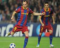 Andres Iniesta - Barcelona (Getty Images)