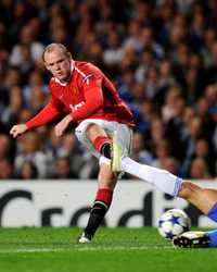 Wayne Rooney - Manchester United & Jose Bosingwa - Chelsea (Getty Images)