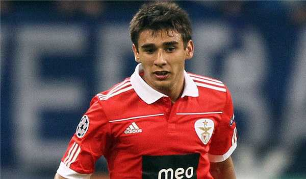 Salvio 'very happy' with Benfica return
