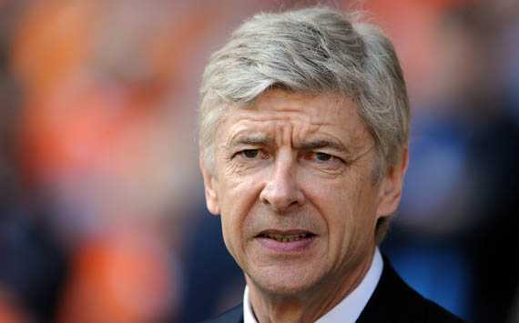 EPL - Blackpool vs Arsenal, Arsene Wenger