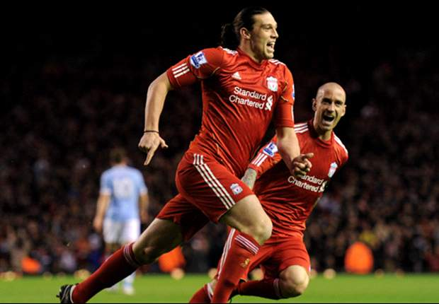Liverpool manager Kenny Dalglish hails 'fantastic' Andy Carroll double after win over Manchester City