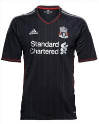 Liverpool Away Kit 2011
