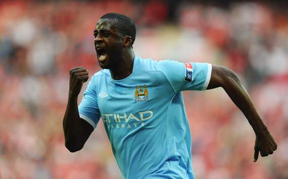 FA Cup Semi Final- 	 Manchester City v Manchester United, Yaya Toure