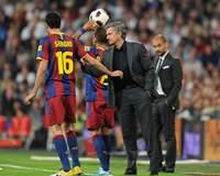 Busquets, Mourinho, Guardiola, Real Madrid-Barcelona, Liga BBVA