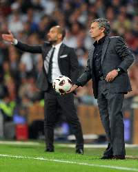 Jose Mourinho - Real Madrid & Pep Guardiola - Barcelona (Getty Images)
