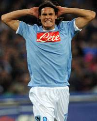 Edinson Cavani - Napoli (Getty Images)