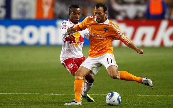 Brad Davis, Houston Dynamo; Dane Richards, New York Red Bulls; MLS (Getty)