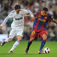Mesut Ozil, Adriano, Barcelona, Real Madrid, Copa del Rey