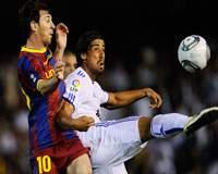Copa del Rey: Lionel Messi (FC Barcelona) Sami Khedira (Real Madrid)