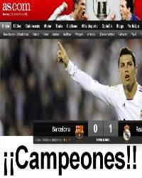Clasico, Final: Copa Del Rey - Real Madrid × Barcelona