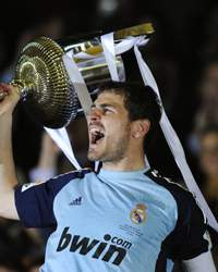 Copa del Rey Final- Real Madrid v Barcelona, Iker Casillas