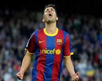 Liga BBVA: David Villa (FC Barcelona)