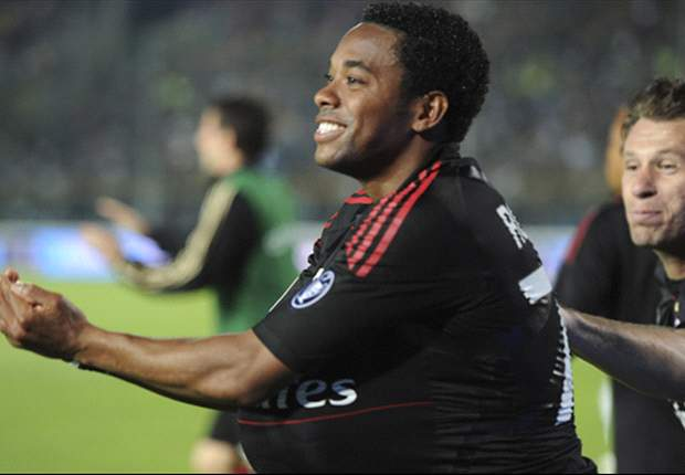 AC Milan's Robinho: We want to win Serie A against Roma