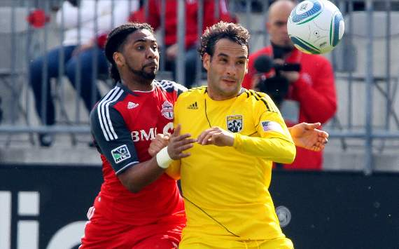 Sebastian Miranda; Javier Martina, Toronto FC, Columbus Crew